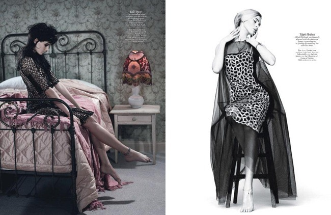 W MAGAZINE- Daria Strokoous & Iselin Steiro in A Muse You Can Use by Willy Vanderperre. Olivier Rizzo, April 2013, www.imageamplified.com, Image Amplified (1)