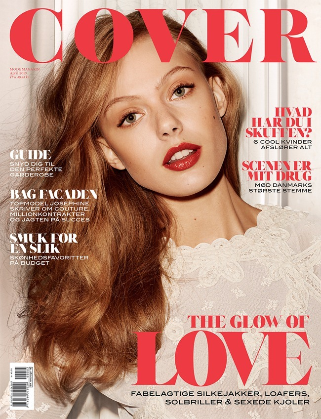 COVER MAGAZINE- Frida Gustavsson in Coco by Hasse Nielsen. Emelie Johansson, April 2013, www.imageamplified.com, Image Amplified (11)