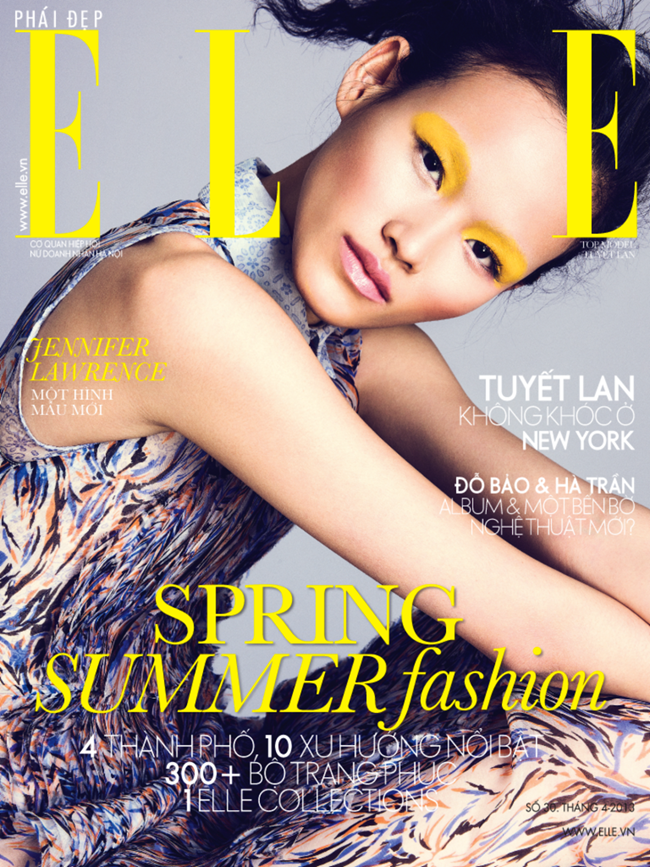 ELLE VIETNAM- Tuyet Lan by Mikael Schulz. Andrew HOlden, April 2013, www.imageamplified.com, Image Amplified