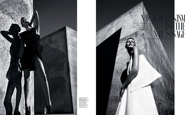 T STYLE MAGAZINE- Anja Rubik in Modernism Is A Message by Mario Sorrenti. Jane How, Spring 2013, www.imageamplified.com, Image Amplified (1)