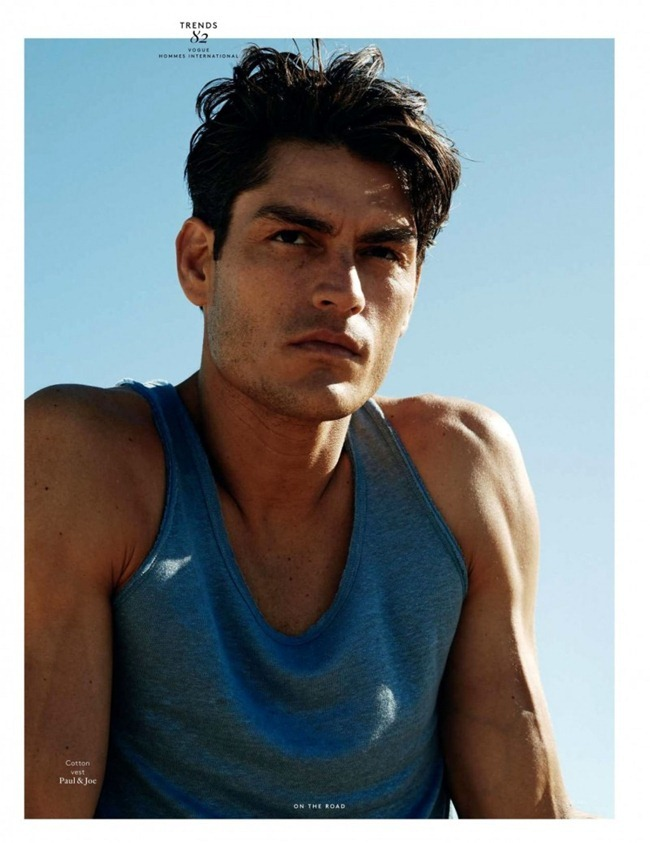 VOGUE HOMMES INTERNATIONAL- Tyson Ballou by Philippe Vogelenzang. Darcy Backlar, www.imageamplified.com, Image Amplified