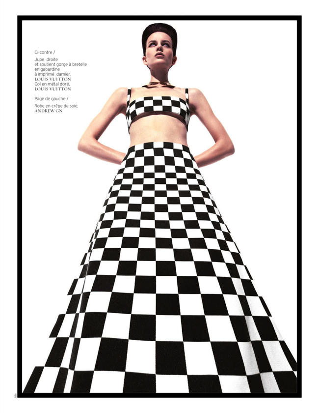 FRENCH REVUE DE MODES- Ellinore Erichsen by Ishi. Mario Chambrette, Spring 2013, www.imageamplified.com, Image Amplified (4)
