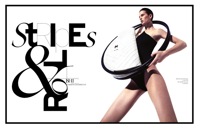 FRENCH REVUE DE MODES- Ellinore Erichsen by Ishi. Mario Chambrette, Spring 2013, www.imageamplified.com, Image Amplified