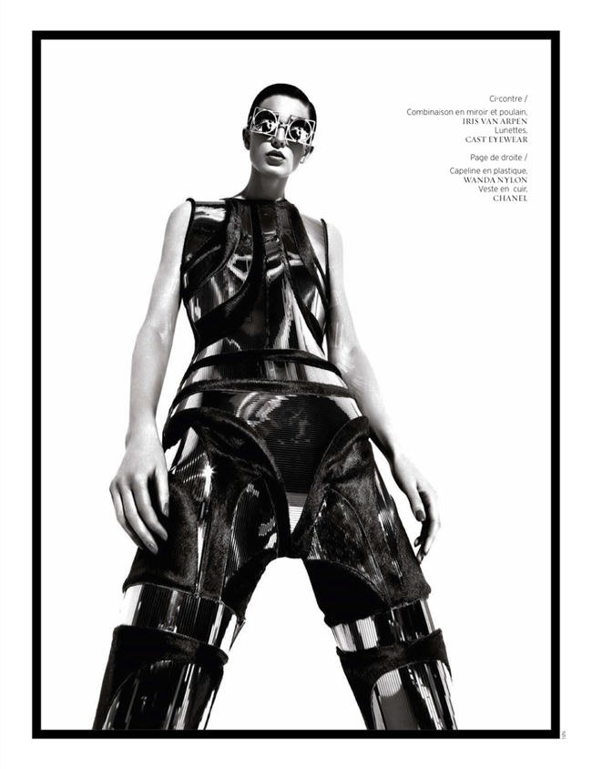FRENCH REVUE DE MODES- Ellinore Erichsen by Ishi. Mario Chambrette, Spring 2013, www.imageamplified.com, Image Amplified (8)