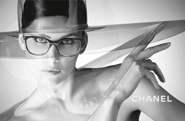 CAMPAIGN- Laetitia Casta for Chanel Eyewear Spring 2013 by Karl Lagerfeld. www.imageamplified.com, Image Amplified (4)