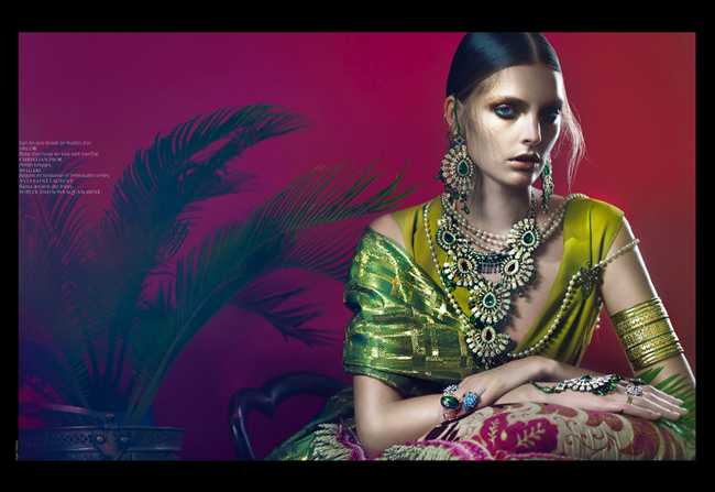 RENCH REVUE DE MODES- Gertrud Hegelund in India Song by Signe Vilstrup. Dorothea Gundtoft, Spring 2013, www.imageamplified.com, Image Amplified (3)
