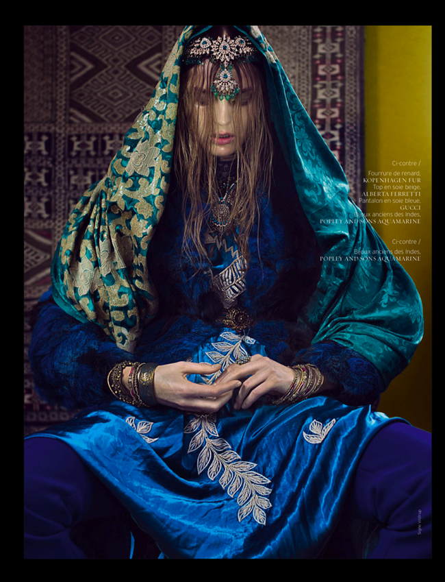 RENCH REVUE DE MODES- Gertrud Hegelund in India Song by Signe Vilstrup. Dorothea Gundtoft, Spring 2013, www.imageamplified.com, Image Amplified (4)