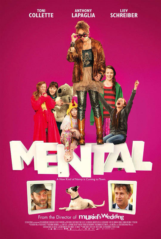 CINEMA SCAPE: Mental by P.J. Hogan Starring Toni Collette & Liev Schreiber. In Theaters Now