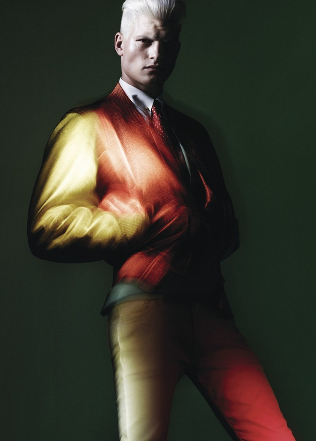 NUMERO HOMME MAGAZINE- John Todd in Neons by Benjamin Lennox. Charles Varenne, Spring 2013, www.imageamplified.com, Image Amplified (2)