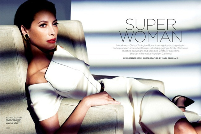 CALIFORNIA STYLE MAGAZINE- Christy Turlington in Superwoman by Mark Abrahams. March 2013, www.imageamplified.com, Image Amplified (2)