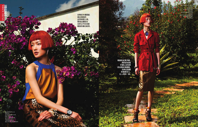 VOGUE CHINA- Du Juan in Elegant Safari by Li Qui. Candy Lee, May 2013, www.imageamplified.com, Image Amplified (1)