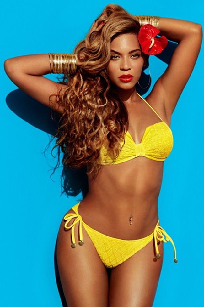 CAMPAIGN- Beyonce for H&M Summer 2013 by Inez & Vinoodh. www.imageamplified.com, Image Amplified