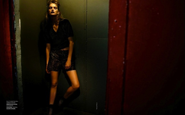 ELLE FRANCE Mirte Maas in Wild Classe by Nicolas Moore. Tamara Taichman, August 2012, www.imageamplified.com, Image Amplified (10)