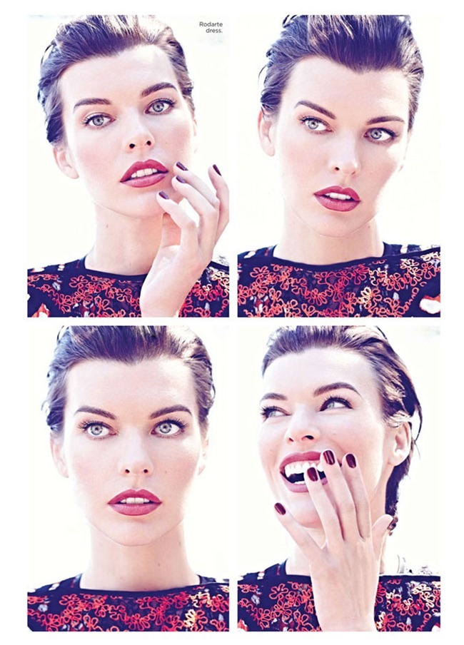 FLARE MAGAZINE Milla Jovovich in Maximum Milla by Max Abadian. Elizabeth Cabral, October 2012, www.imageamplified.com, Image Amplified (3)
