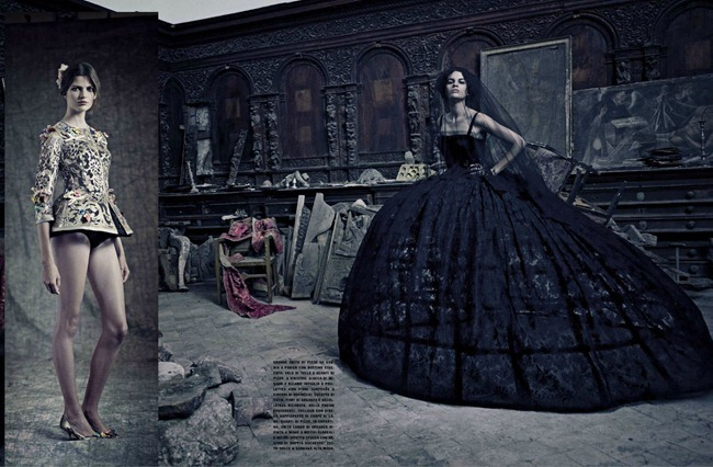 VOGUE ITALIA Dolce & Gabbana, Una Storia Italiana by Paolo Roversi. giovanna Battaglia,  September 2012, www.imageamplified.com, Image Amplified (15)