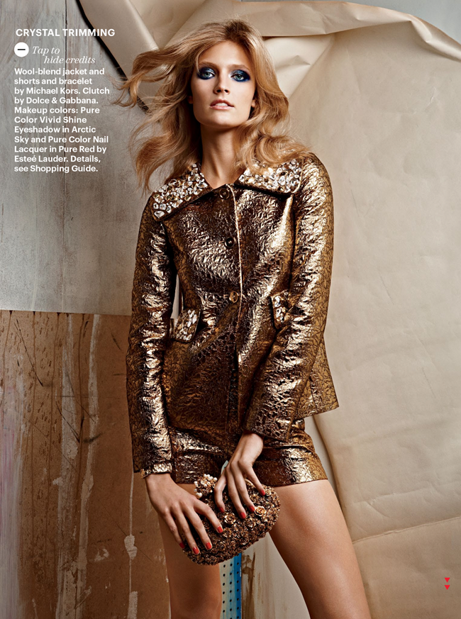 ALLURE MAGAZINE constance Jablonski in More is More by Patrick Demarchelier. Siobhan Bonnouvrier, October 2012, www.imageamplified.com, Image Amplified (1)