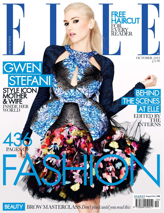 ELLE UK Gwen Stefani in I'm Just a Girl by Matt Irwin. Natalie Wansbrough-Jones, October 2012, www.imageamplified.com, Image Amplified (1)