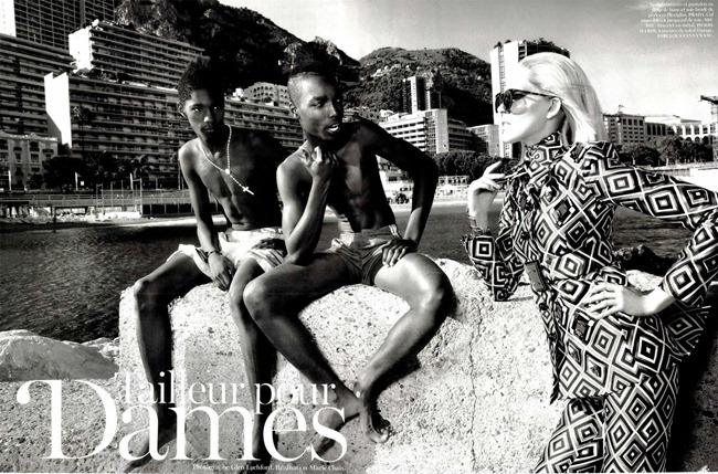 VOGUE PARIS Iselin Steiro in Tail Eur Pur Dammes by Glen Luchford. Marie Chaix, October 2012, www.imageamplified.com, Image Amplified (10)