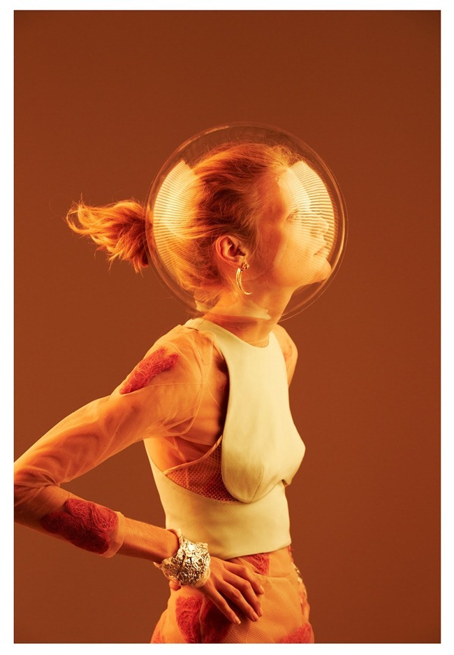 OYSTER MAGAZINE Hanne Gaby Odiele in EArth -- Hanne by Will Davidson. Stevie Dance, Fall 2012, www.imageamplified.com, Image Amplified (2)