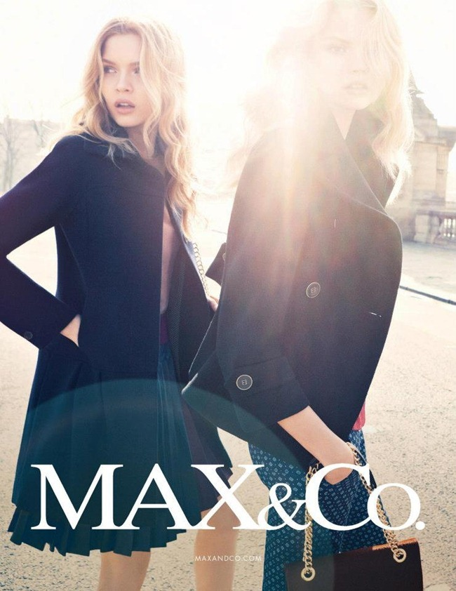 CAMPAIGN Magdalena Frackowiak & Josephine Skriver for Max & Co by Knoepfel & Indlekofer. Clare Richardson, www.imageamplified.com, Image Amplified (2)