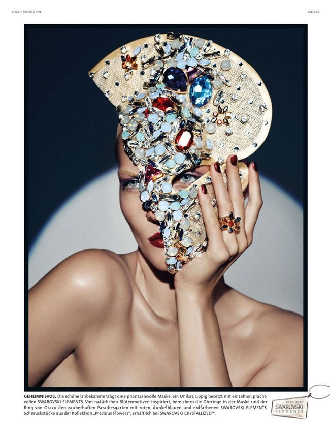 VOGUE GERMANY- Karolin Wolter in Swarovski by Lado Alexi. Dennis Blys, December 2012, www.imageamplified.com, Image Amplified (2)