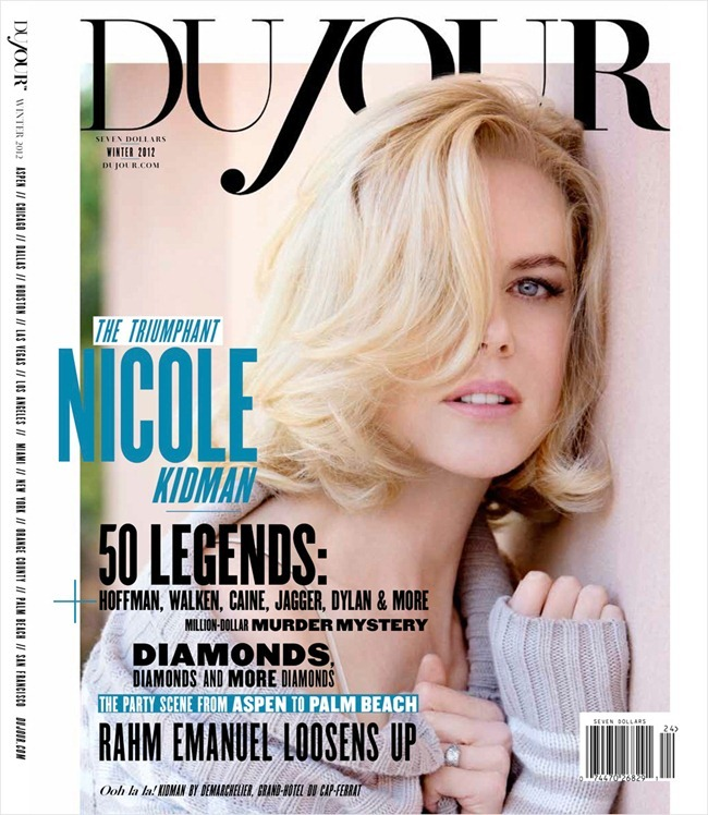 DUJOUR MAGAZINE- Nicole Kidman in Becoming Nicole Kidman by Patrick Demarchelier. L'Wren Scott, Winter 2012, www.imageamplified.com, Image Amplified