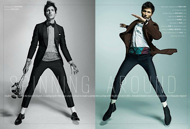 ES MAGAZINE- Andres Velencoso Segura in Spinning Around by Rick Guest. www.imageamplified.com, Image Amplified (2)