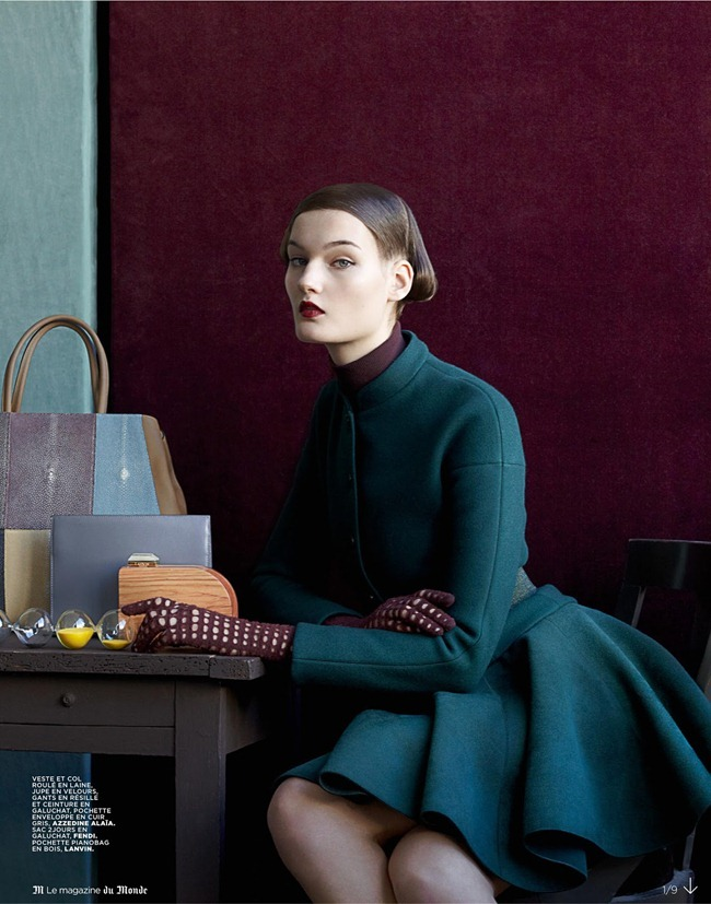 M LE MONDE MAGAZINE- Kirsi Pyrhonen by Noblesse Nordique by Julia Hetta. Hannes Hetta, November 2012, www.imageamplified.com, Image Amplified (1)