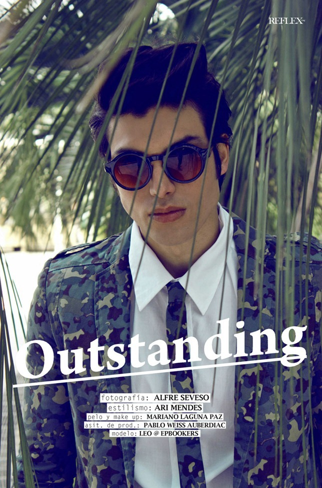 REFLEX MAGAZINE- Leonel Mangieri in Outstanding by Alfre Seveso. Ari Mendes, www.imageamplified.com, Image Amplified