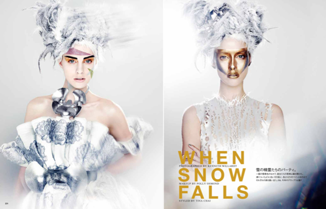 VOGUE JAPAN- When Snow Falls by Kenneth Willardt. January 2012, www.imageamplified.com, Image Amplified (1)