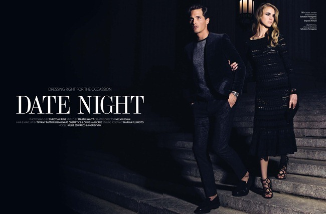 AUGUST MAN MAGAZINE- Ollie Edwards in Date Night by Christian Rios. Martin Waitt, www.imageamplified.com, Image Amplified
