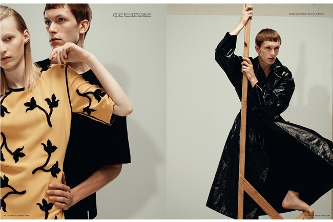 I-D MAGAZINE- Anders Johnson, Baptiste Radufe & Craig Rathgebur in You Can't Direct the Wind by Collier Schorr, Fall 2012, www.imageamplified.com, Image Amplified (1)