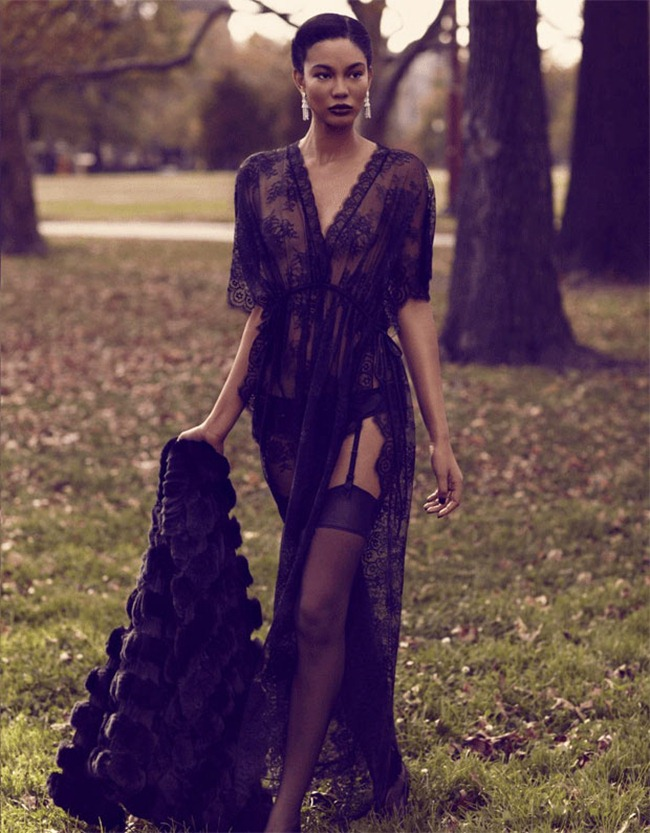 DELUXE MAGAZINE- Chanel Iman in Venus in Furs by David Roemer. www.imageamplified.com, Image Amplified (2)
