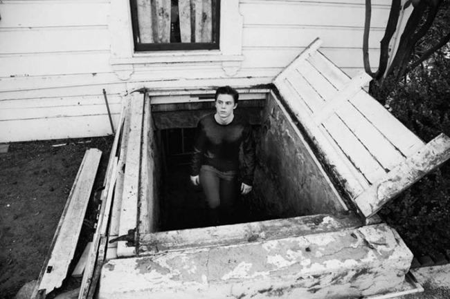FLAUNT MAGAZINE- Evan Peters in Internal Horror by Davis Factor. Joshua Liebman, www.imageamplified.com, Image Amplified (9)