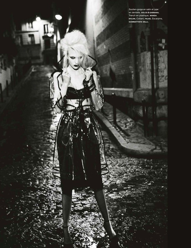 NUMERO MAGAZINE- Juliana Schurig in Paris by Night by Ellen von Unwerth. Samuel Francois, January 2013, www.imageamplified.com, Image Amplified (3)