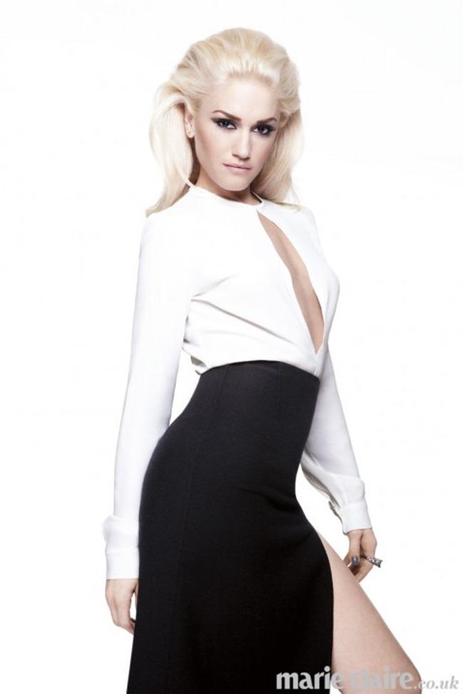 MARIE CLAIRE UK- Gwen Stefani by Dusan Reljin. January 2013, www.imageamplified.com, Image Amplified (2)