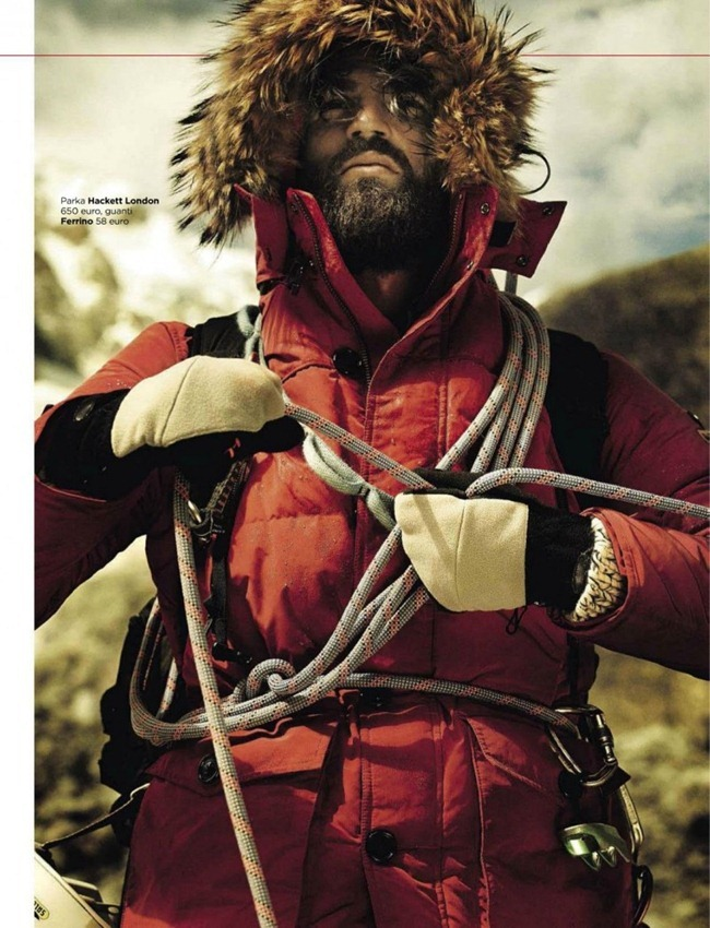 GQ ITALIA- Dimitris Alexandrou in A Loner Climber by Giampaolo Sgura. Claudia Gastaldi, December 2012, www.imageamplified.com, Image Amplified (2)