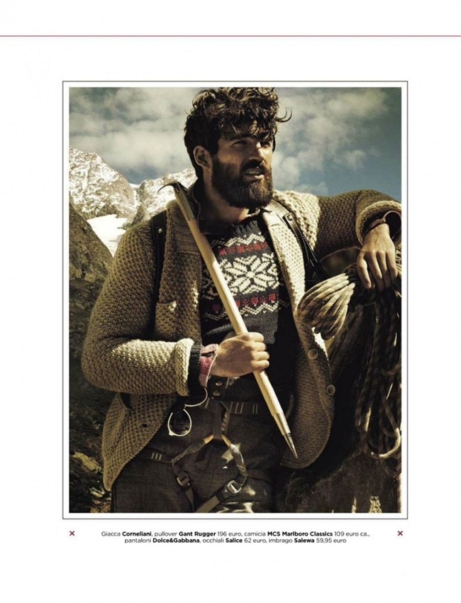 GQ ITALIA- Dimitris Alexandrou in A Loner Climber by Giampaolo Sgura. Claudia Gastaldi, December 2012, www.imageamplified.com, Image Amplified (4)