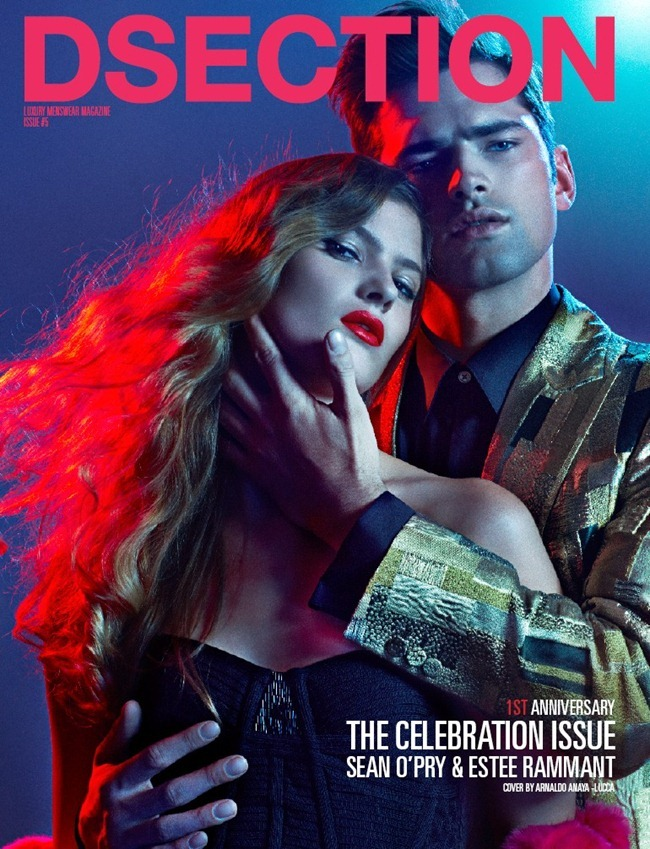 DSECTION MAGAZINE- Sean O'Pry & Estee Rammant in Celebration by Arnaldo Anaya-Lucca. Joseph Episcopo, www.imageamplified.com, Image Amplified (13)