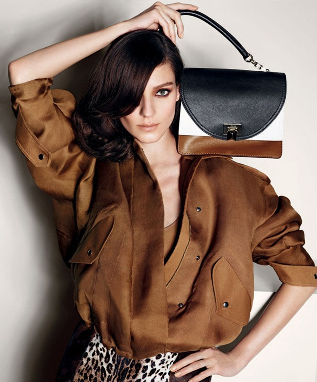 CAMPAIGN- Kati Nescher for MaxMara Spring 2013 by Mario Sorrenti. www.imageamplified.com, Image Amplified