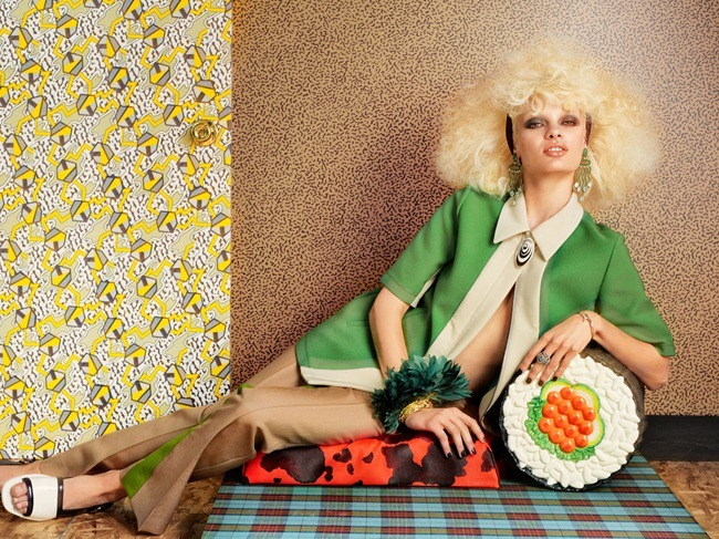 TAR MAGAZINE- Stef van der Laan in Material Girl by Roe Ethridge. Giovanna BAttaglia, Fall 2012, www.imageamplified.com, Image Amplified (1)