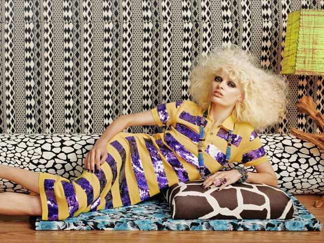 TAR MAGAZINE- Stef van der Laan in Material Girl by Roe Ethridge. Giovanna BAttaglia, Fall 2012, www.imageamplified.com, Image Amplified (2)