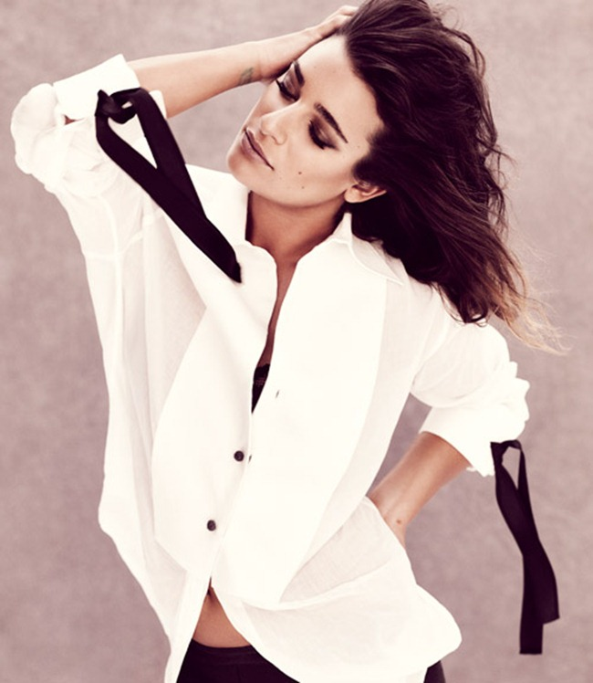 MARIE CLAIRE MAGAZINE- Lea Michele by Andreas Sjodin. January 2013, www.imageamplified.com, Image Amplified (2)
