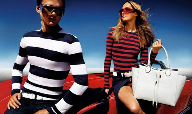 CAMPAIGN- Karmen Pedaru & Simon Nessman for Michael Kors Spring 2013. www.imageamplified.com, Image Amplified