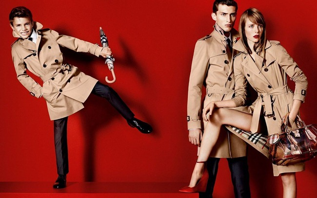PREVIEW- Romeo Beckham, Cara Delevigne, Edie Campbell & Charlie Franco for Burberry Prorsum Spring 2013 by Mario Testino. www.imageamplified.com, Image Amplified