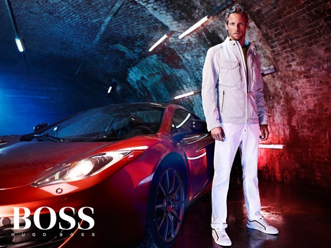 CAMPAIGN- Jenson Button for Hugo Boss x McLaren by Hunter & Gatti. www.imageamplified.com, Image Amplified