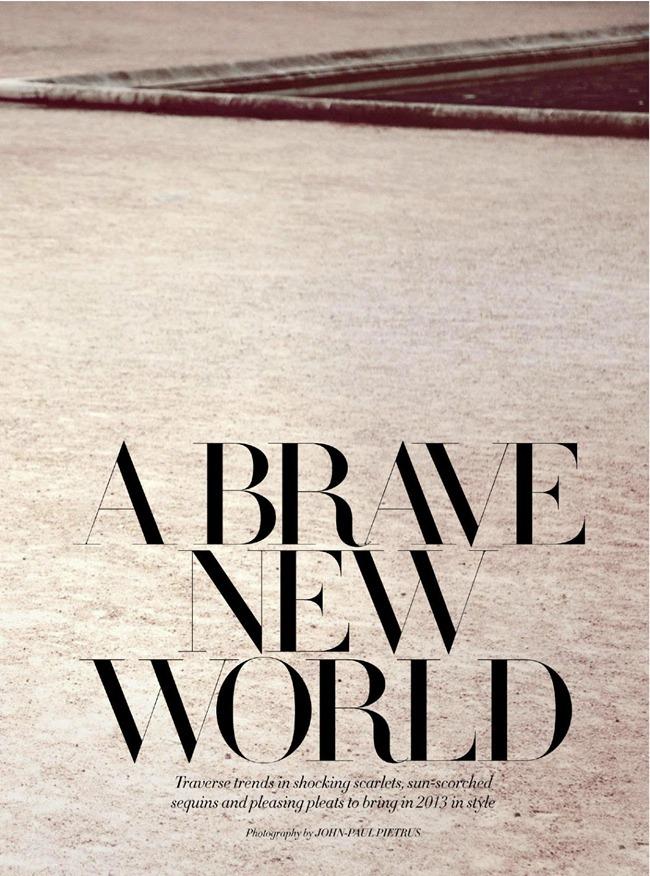 HARPER'S BAZAAR ARABIA- Alla Kostromichova in A Brave New World by John-Paul Pietrus. Kenneth Goh, December 2012, www.imageamplified.com, Image Amplified (1)