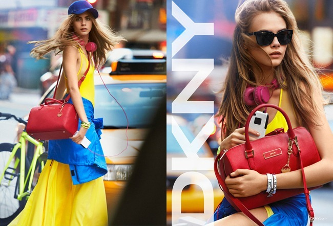 CAMPAIGN- Cara Delevigne for DKNY Spring 2013 by Patrick Demarchelier. www.imageamplified.com, Image Amplified (1)