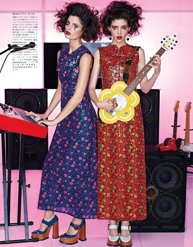 VOGUE JAPAN- Girls In The Band by Sharif Hamza. Giovanna Battaglia, February 2013, www.imageamplified.com, Image Amplified (7)