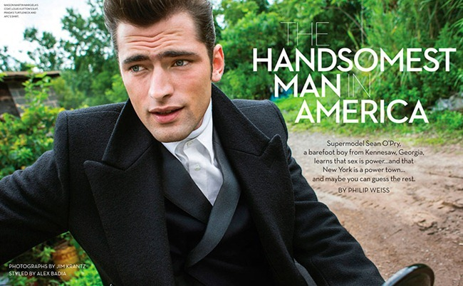 M MAGAZINE- Sean O'Pry in The Handsomest Man In America by Jim Krantz. Alex Badia, www.imageamplified.com, Image Amplified (1)
